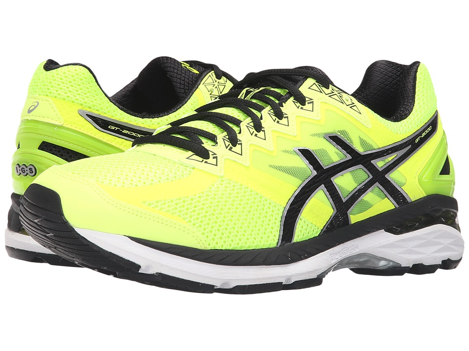ASICS - GT-2000 4 (Safety/Yellow/Onyx/Carbon) Men's Running Shoes