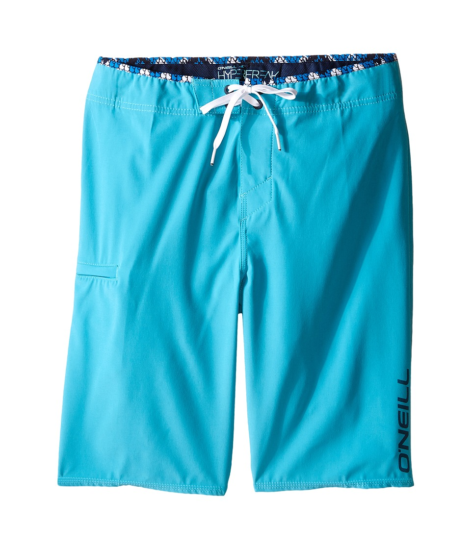 O'Neill Kids - Hyperfreak Solid Boardshorts (Big Kids) (Turquoise) Boy's Swimwear