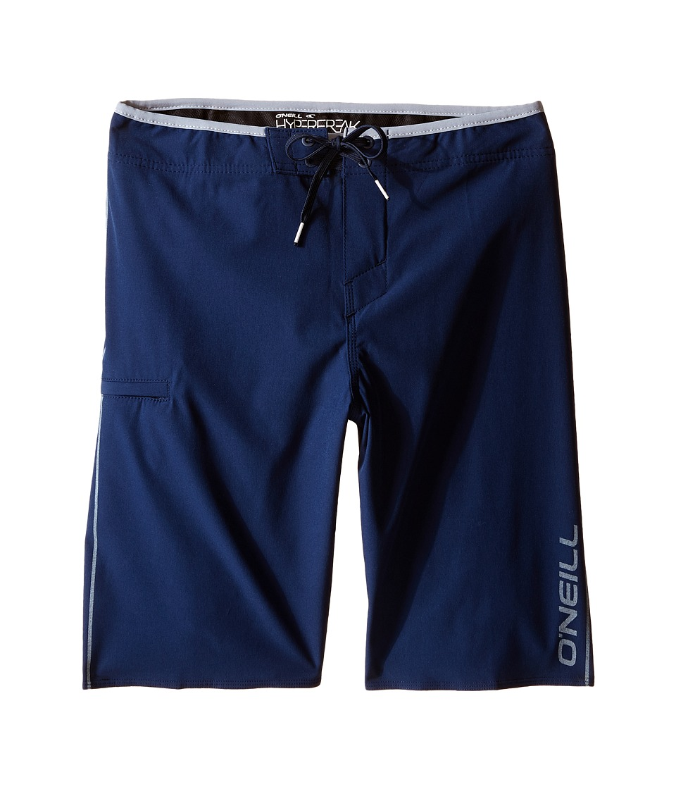 O'Neill Kids - Hyperfreak Solid Boardshorts (Big Kids) (Navy) Boy's Swimwear