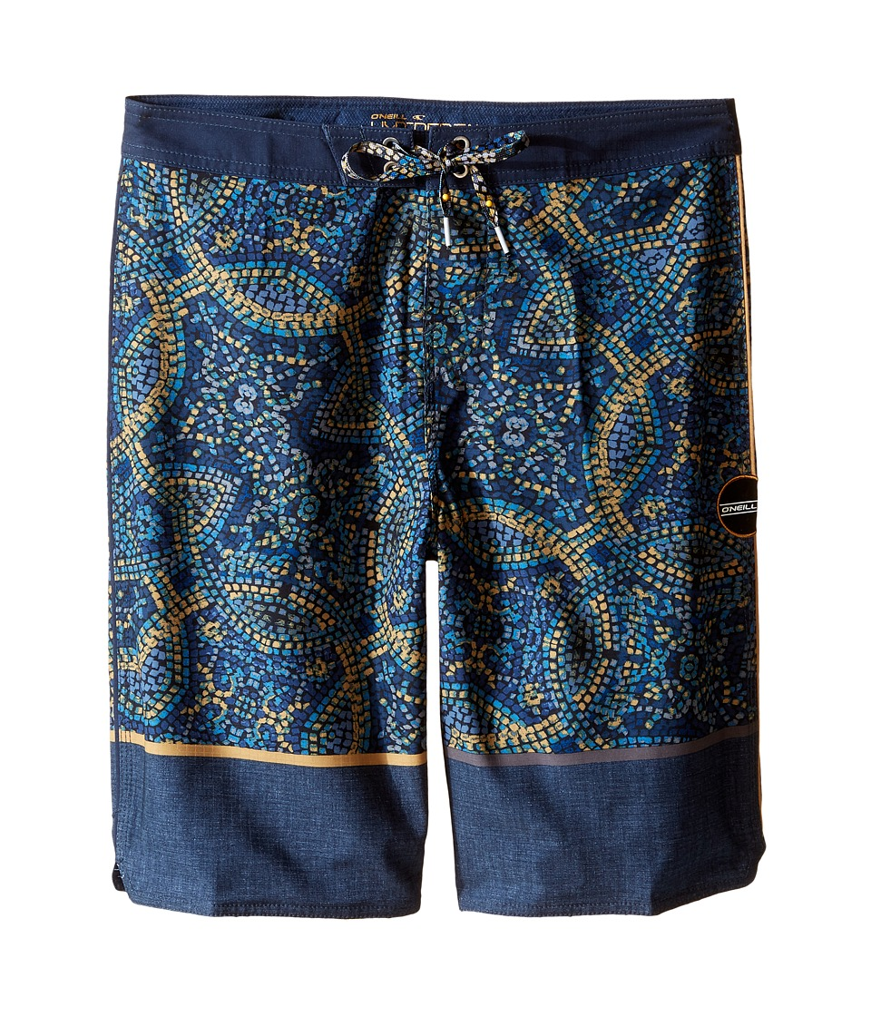 O'Neill Kids - Hyperfreak Canggu Boardshorts (Big Kids) (Dark Navy) Boy's Swimwear