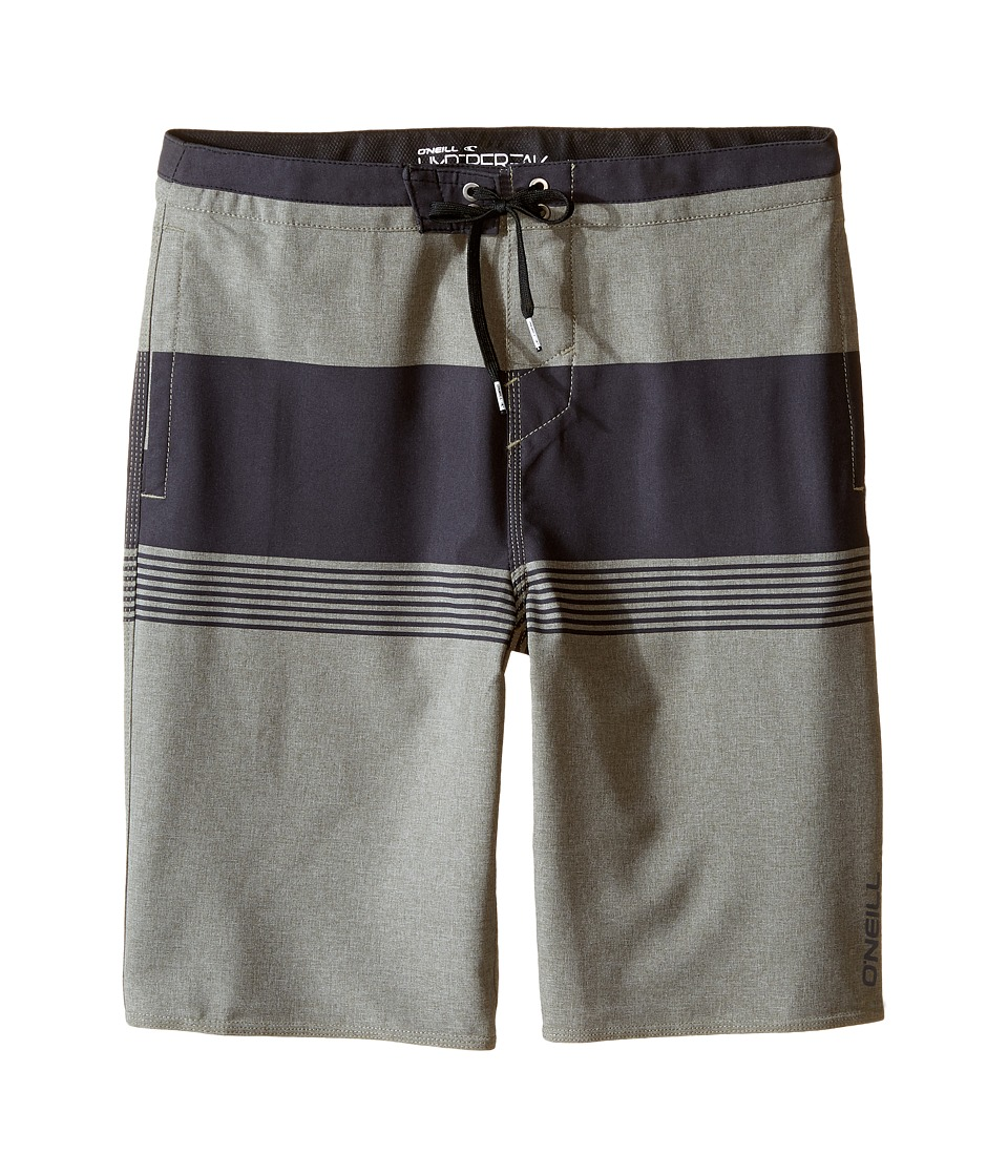 O'Neill Kids - Hyperfreak Horizon Boardshorts (Big Kids) (Military Green) Boy's Swimwear