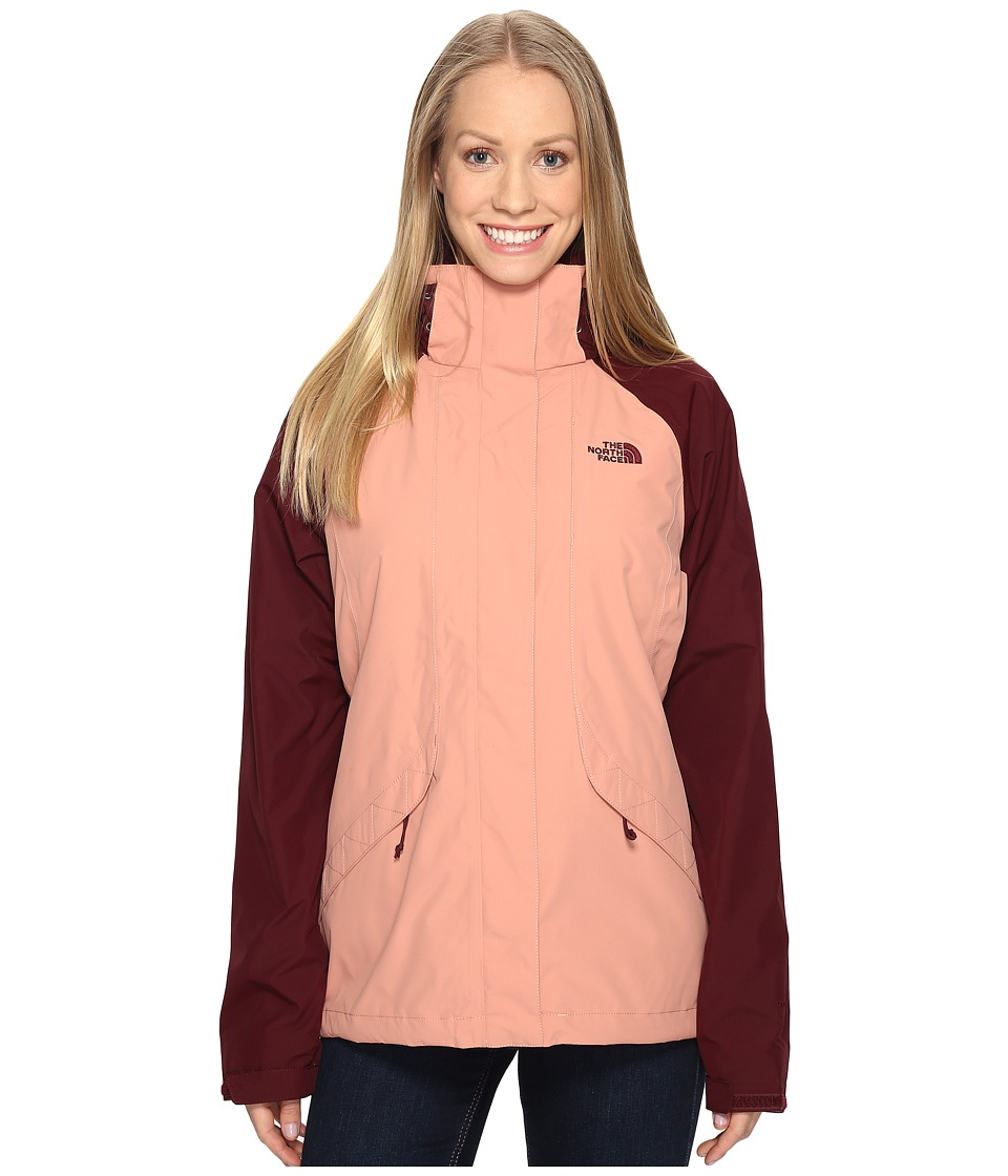 The North Face - Boundary Triclimate(r) Jacket (Rose Dawn/Deep Garnet Red (Prior Season)) Women's Coat