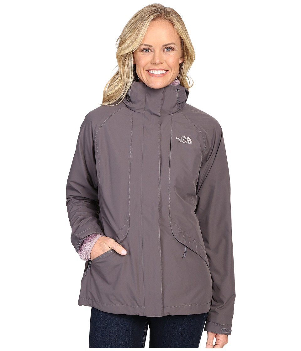 The North Face - Boundary Triclimate Jacket (Rabbit Grey) Women's Coat