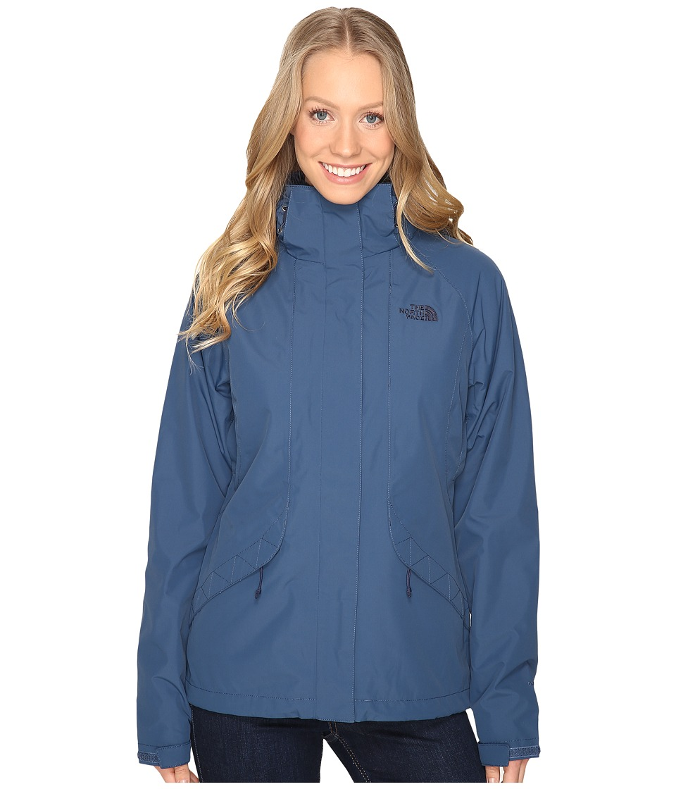 The North Face - Boundary Triclimate Jacket (Shady Blue) Women's Coat