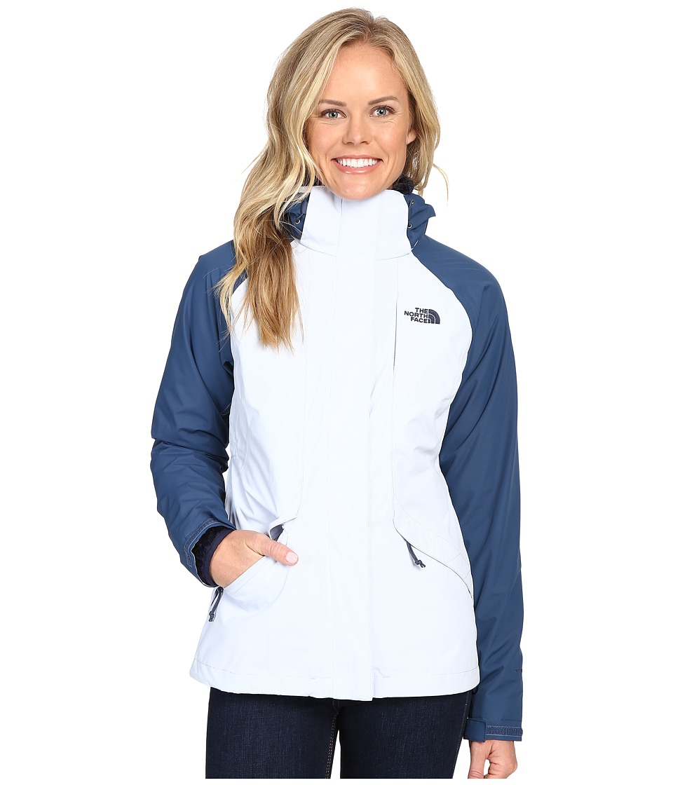 The North Face - Boundary Triclimate Jacket (Arctic Ice Blue/Shady Blue) Women's Coat