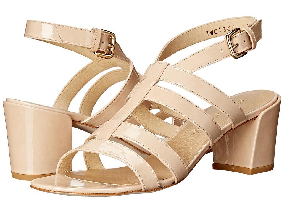 Stuart Weitzman - Charol (Naked Aniline) Women's Sandals