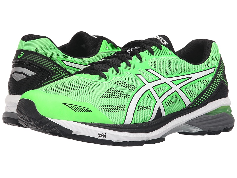 ASICS - GT-1000 5 (Green Gecko/White/Black) Men's Running Shoes