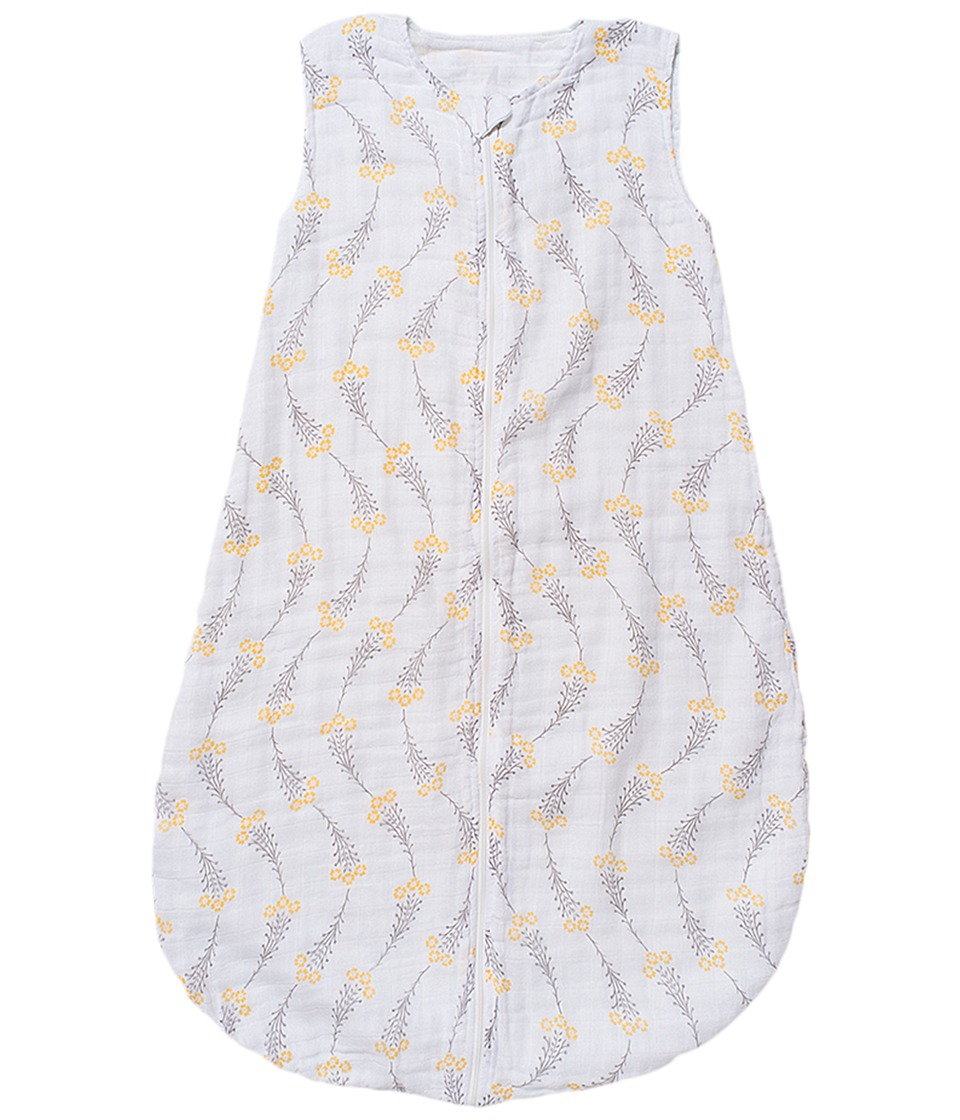 Bebe au Lait - Muslin Bedtime Sleeper - 12-18 Months (Wildflowers) Accessories Travel
