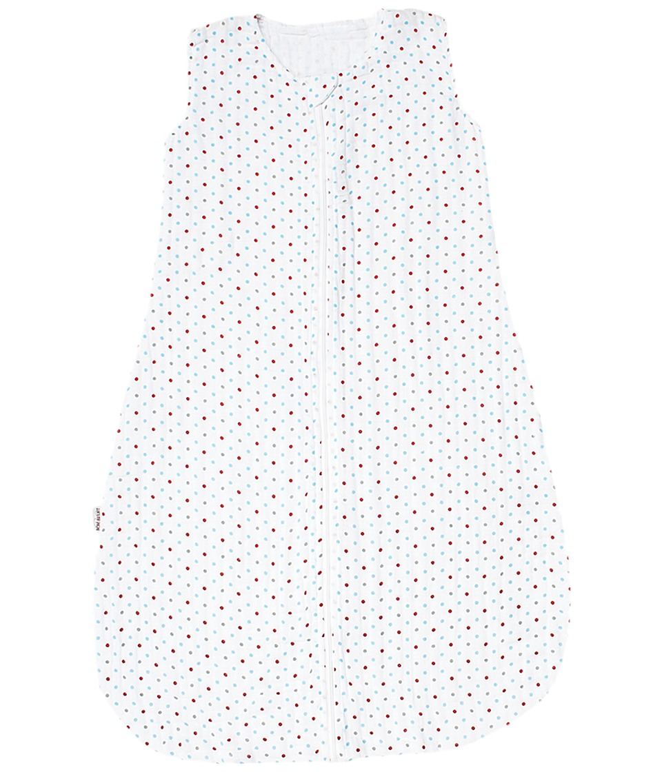 Bebe au Lait - Muslin Bedtime Sleeper - 6-12 Months (Polka) Accessories Travel