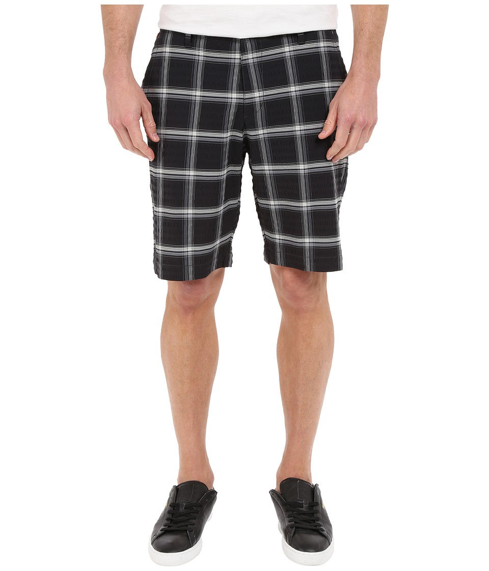 Tommy Bahama - On Par Plaid 10-inch Shorts (Black) Men's Shorts