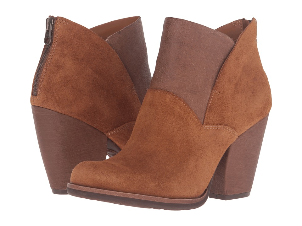 Kork-Ease Castaneda (Rust Suede/Full Grain) Women