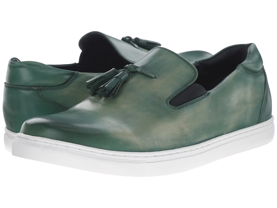Messico - Cain (Vintage Green Leather) Men's Shoes
