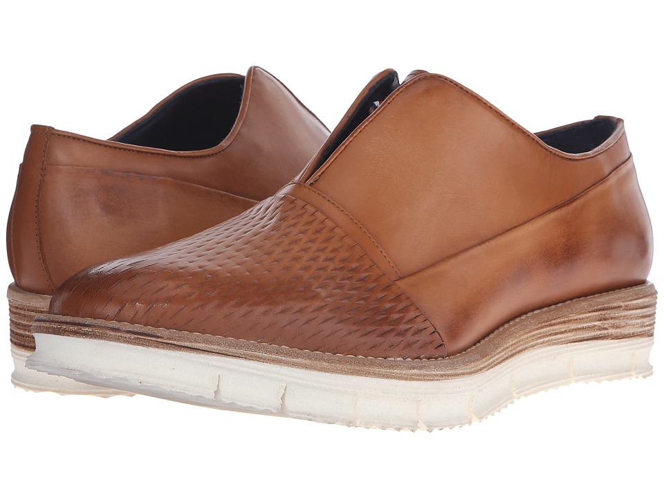 Messico - Gelo (Vintage Honey Leather) Men's Slip on Shoes