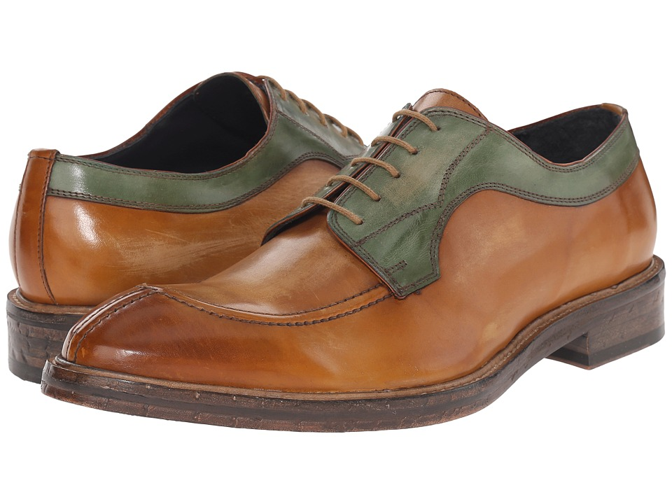 Messico - Fabricio (Vintage Honey/Vintage Green Leather) Men's Shoes