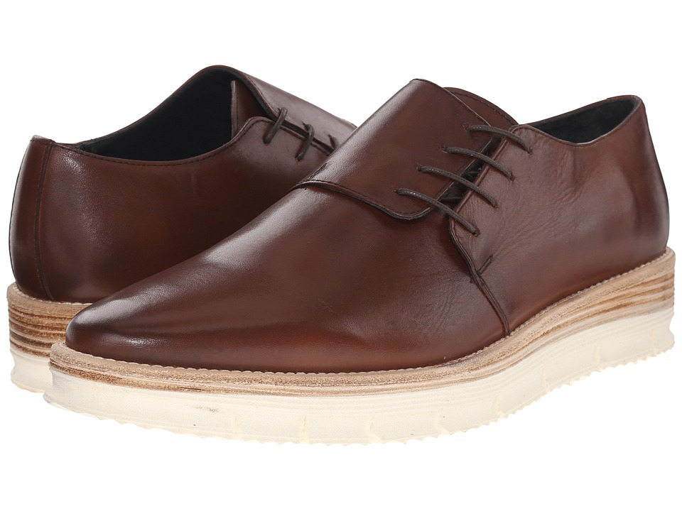 Messico - George (Brown Leather) Men's Shoes