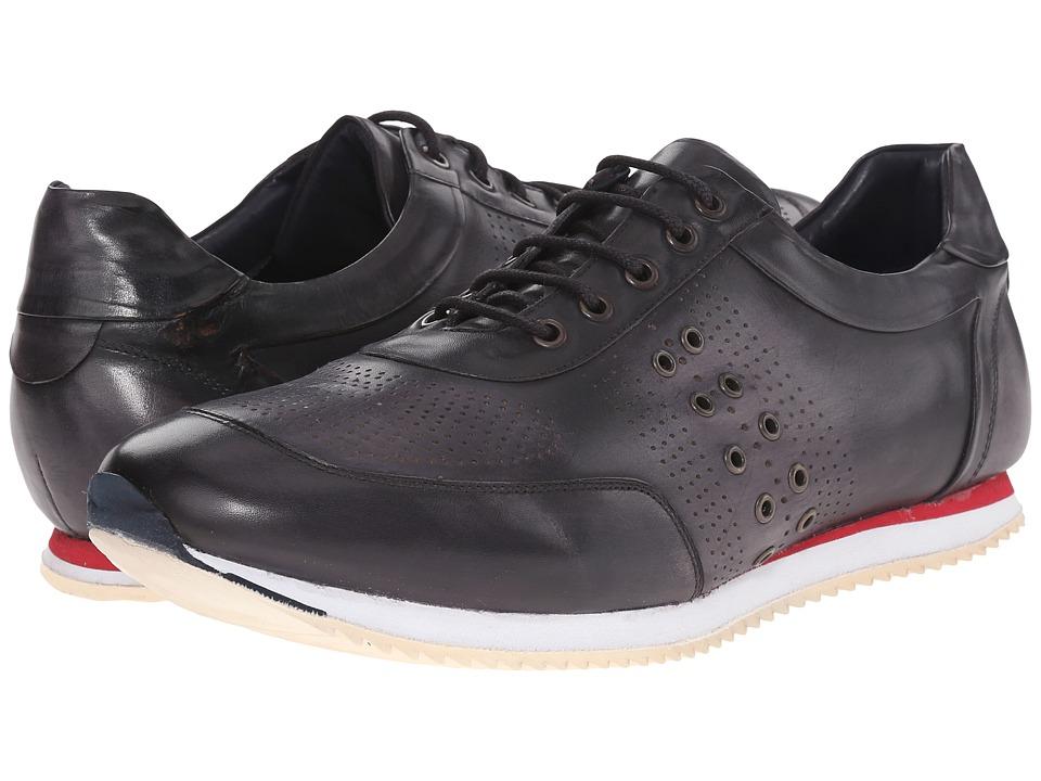 Messico - Giancarlo (Vintage Black Leather) Men's Shoes