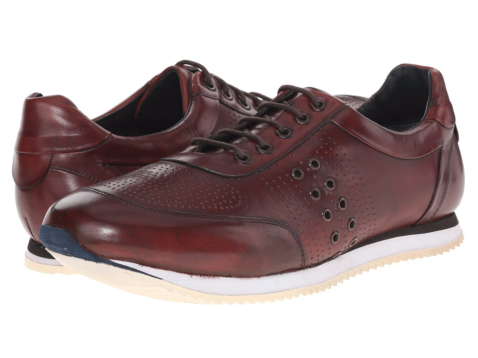 Messico - Giancarlo (Burgundy Leather) Men's Shoes