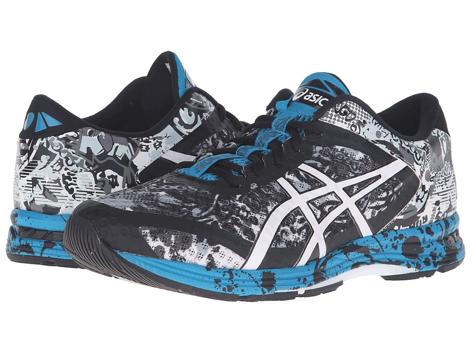 ASICS - Gel-Noosa Tri 11 (Mid Grey/White/Blue Jewel) Men's Running Shoes