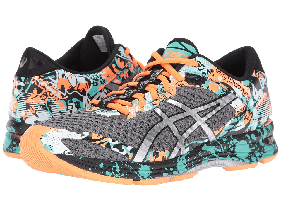 ASICS - Gel-Noosa Tri 11 (Carbon/Silver/Hot Orange) Men's Running Shoes