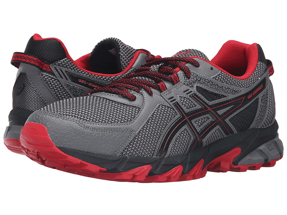 ASICS - GEL-Sonoma 2 (Carbon/True Red/Black) Men's Running Shoes