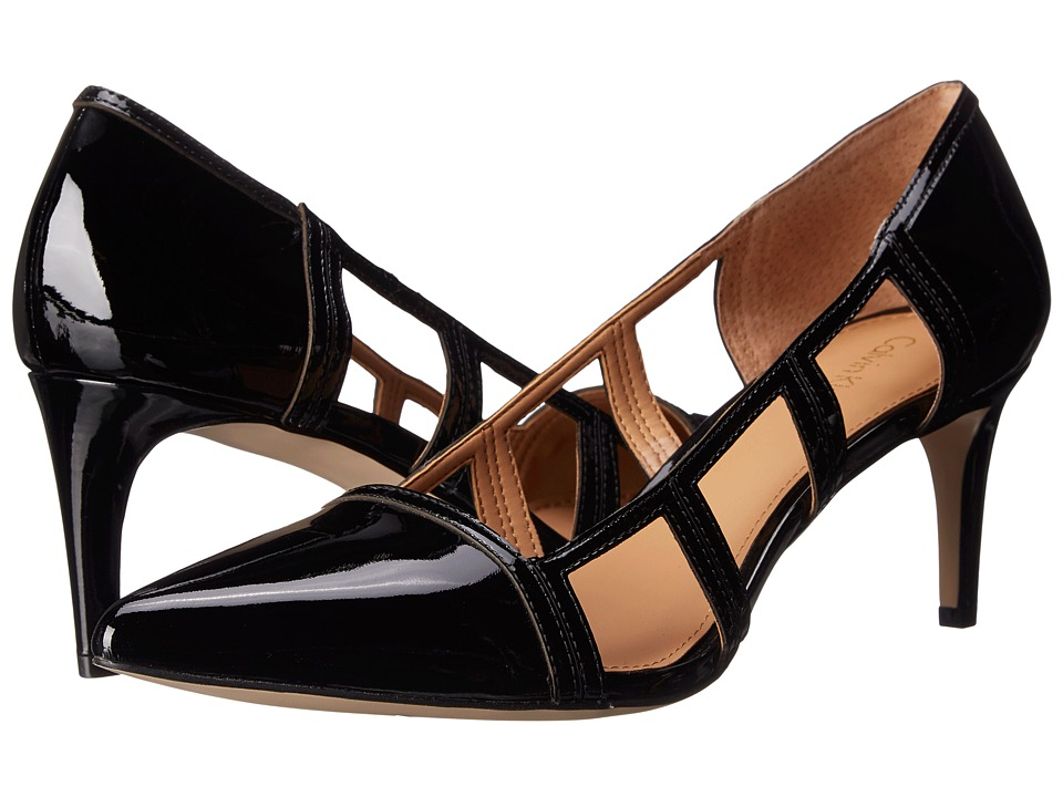 Calvin Klein - Carice (Black Patent) Women's Shoes