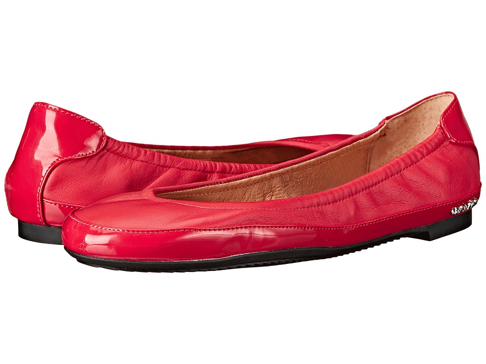 Calvin Klein Anabelle (Lipstick Red Leather/Patent) Women