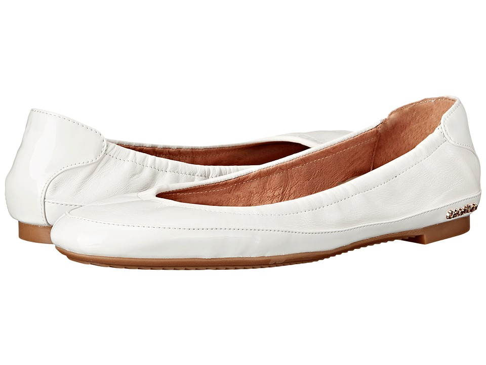 Calvin Klein - Anabelle (Platinum White Leather/Patent) Women's Shoes
