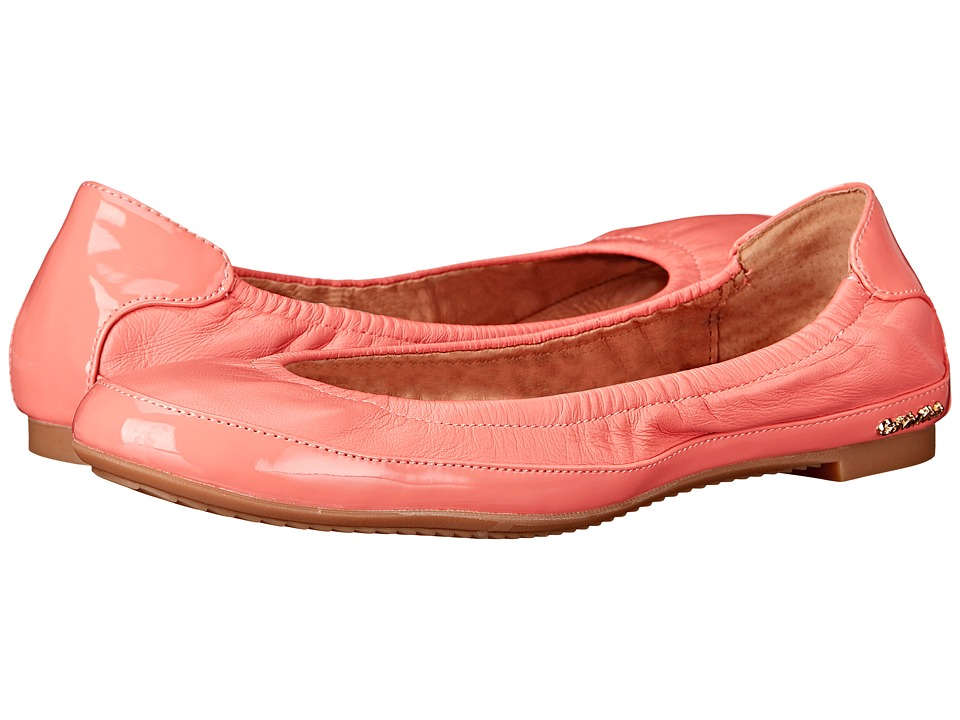 Calvin Klein Anabelle (Salmon Rose Leather/Patent) Women
