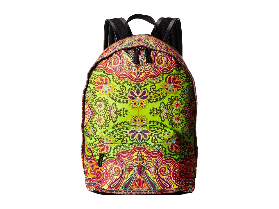 Etro - 1G7772724 (Yellow Paisley) Backpack Bags