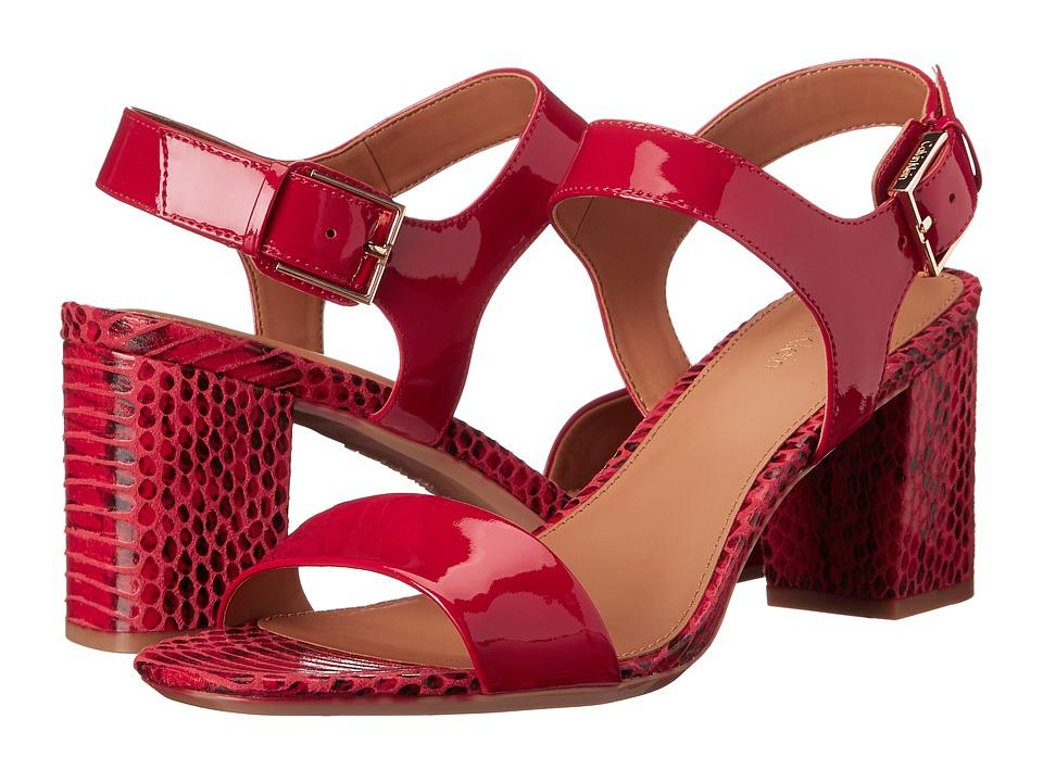 Calvin Klein - Cimi (Lipstick Red Patent) High Heels