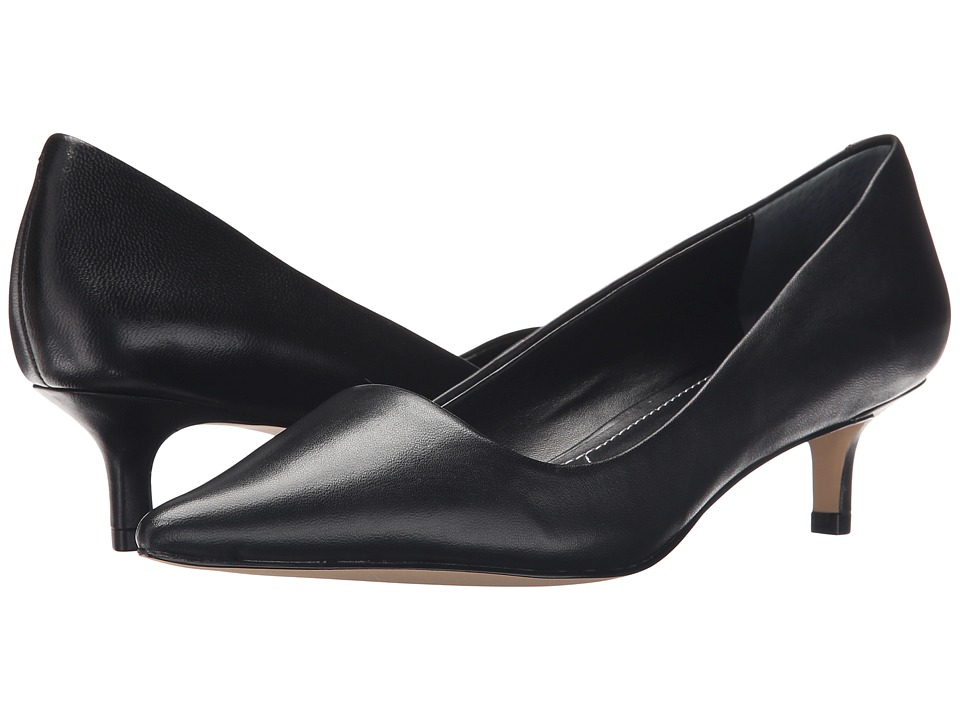Charles by Charles David - Drew (Black Leather) Women's 1-2 inch heel Shoes