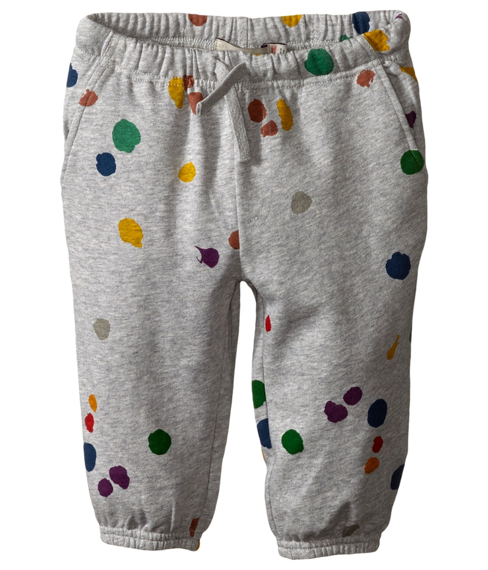 Stella McCartney Kids - Loopie Paint Splatter Sweatpants (Infant) (Gray) Kid's Casual Pants