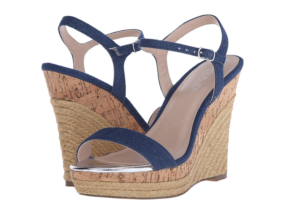 Charles by Charles David - Arizona (Denim Fabric) Women's Wedge Shoes