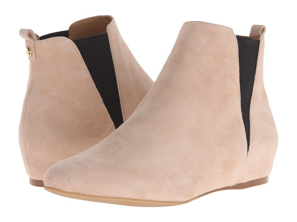 Calvin Klein - Magica (Sandstorm/Black Kid Suede/Elastic) Women's Pull-on Boots