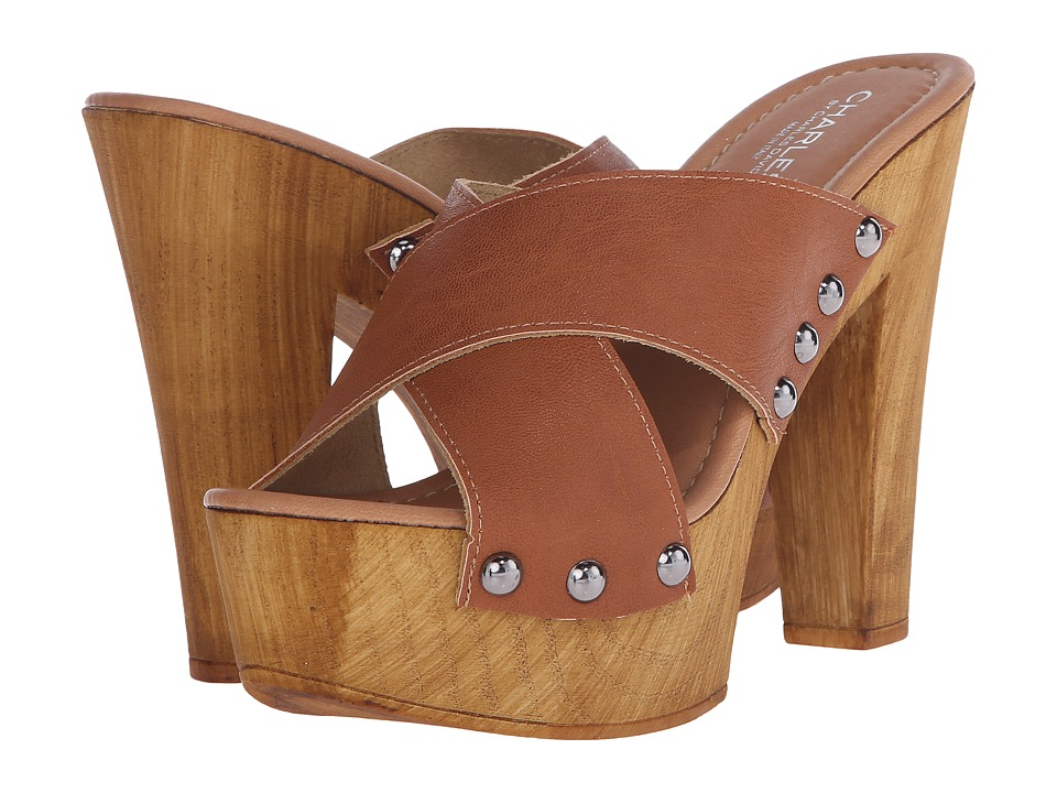Charles by Charles David - Golden (Camel Leather) High Heels