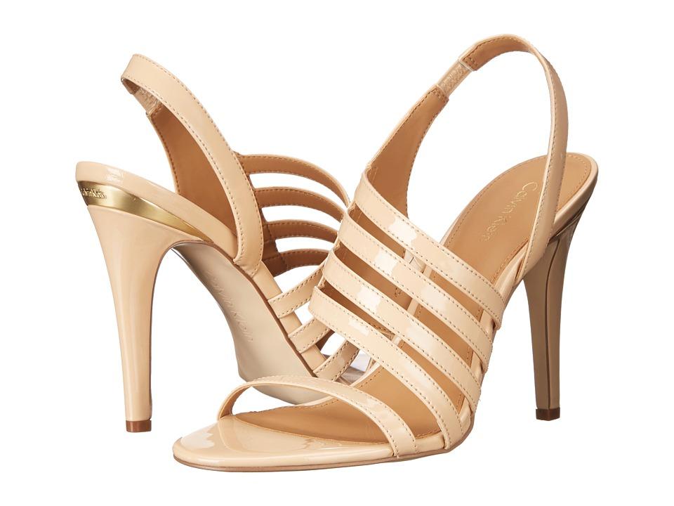 Calvin Klein Mirian (Sandstorm Patent) High Heels