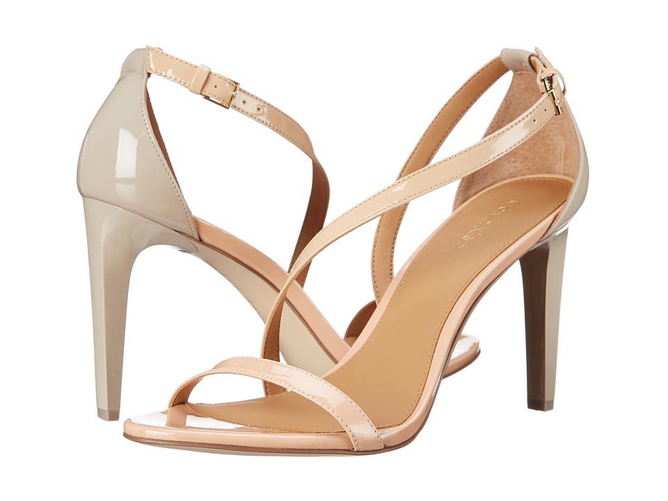 Calvin Klein - Narella (Nude/Sandstorm/Cocoon Patent) High Heels