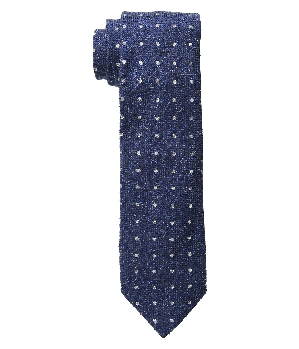 Etro - 120263600 (Blue Pindot) Ties