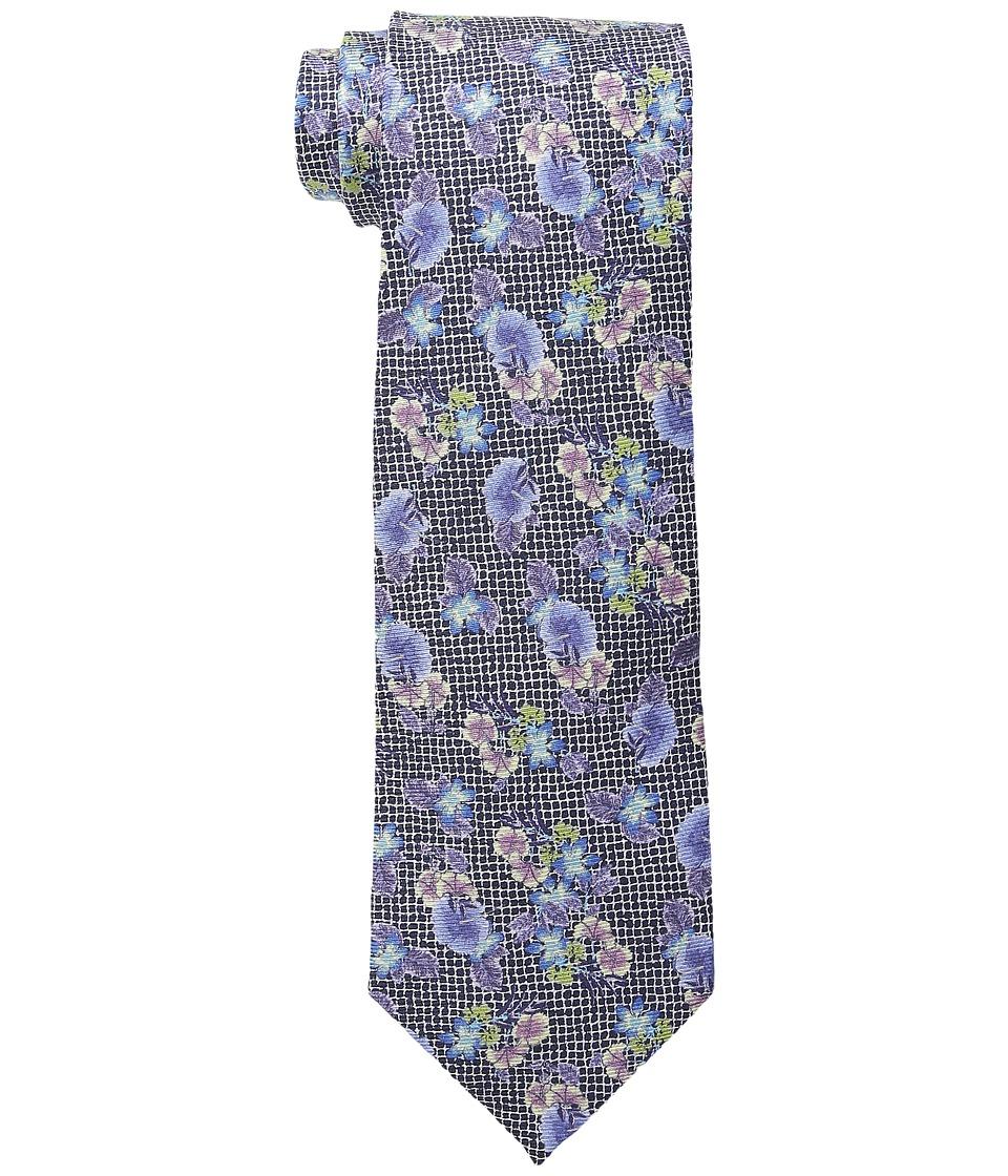 Etro - 120265063 (Black Floral) Ties