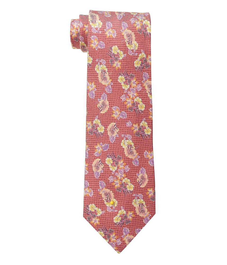 Etro - 120265063 (Red Floral) Ties