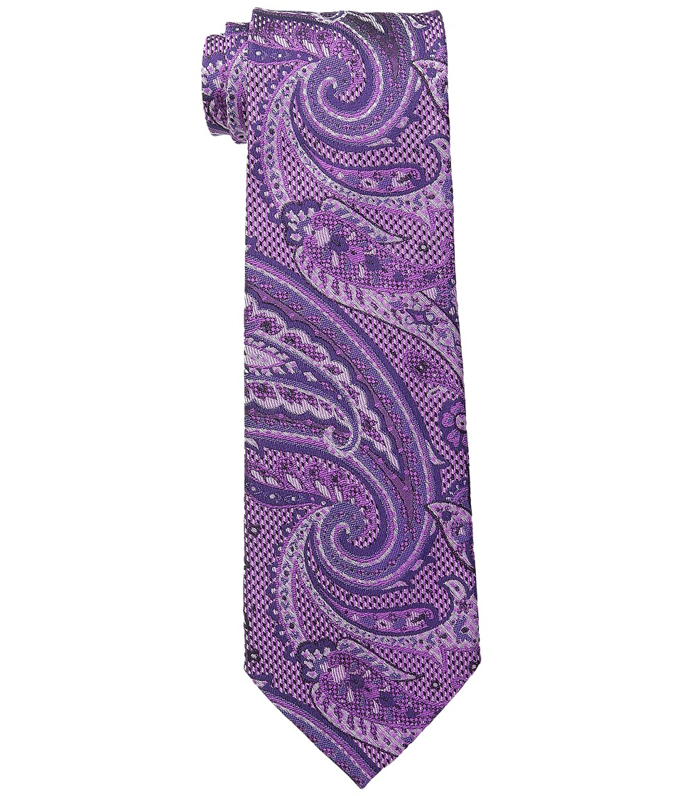 Etro - 120263116 (Purple Paisley) Ties