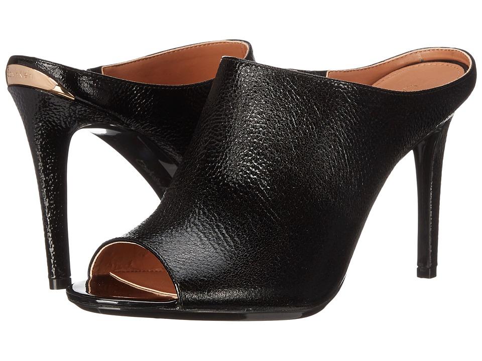 Calvin Klein - Nariss (Black Tumbled Patent) High Heels