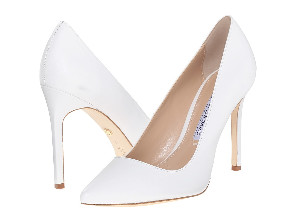 Charles by Charles David - Caterina (White Leather) High Heels
