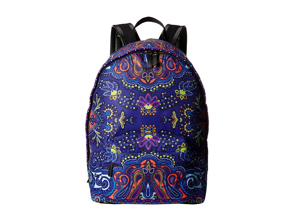 Etro - 1G7772724 (Blue Paisley) Backpack Bags