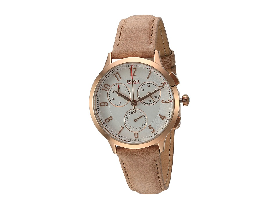 Fossil - Abilene - CH3016 (Beige) Watches