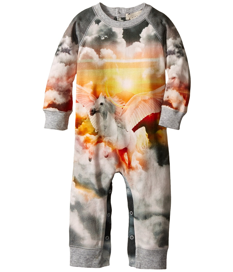 Stella McCartney Kids - Jimbo Unicorn All In One (Infant) (Grey Multi) Girl's Jumpsuit & Rompers One Piece