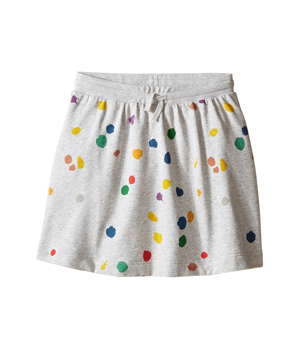 Stella McCartney Kids - Crystal Polka Dot Jersey Knit Skirt (Toddler/Little Kids/Big Kids) (Gray) Girl's Skirt