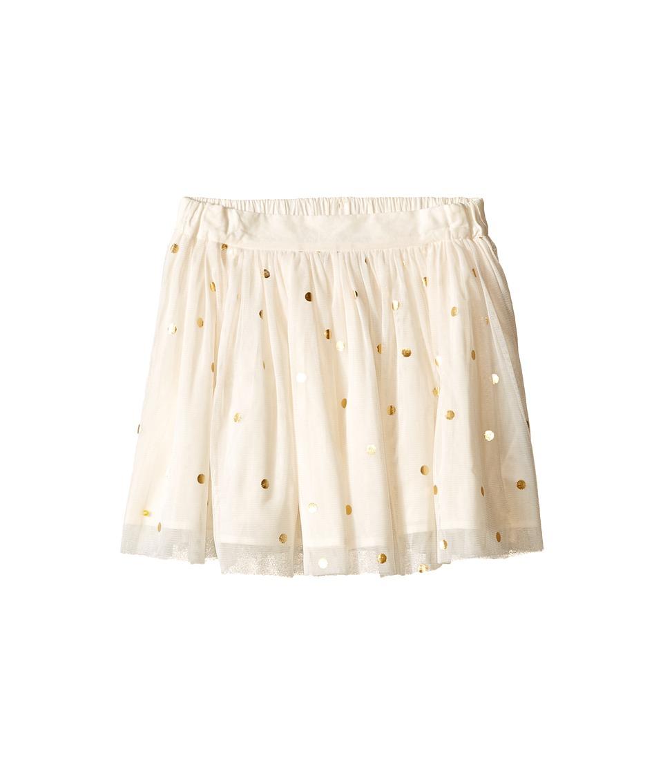 Stella McCartney Kids - Honey Polka Dot Tulle Skirt (Toddler/Little Kids/Big Kids) (Cream) Girl's Skirt