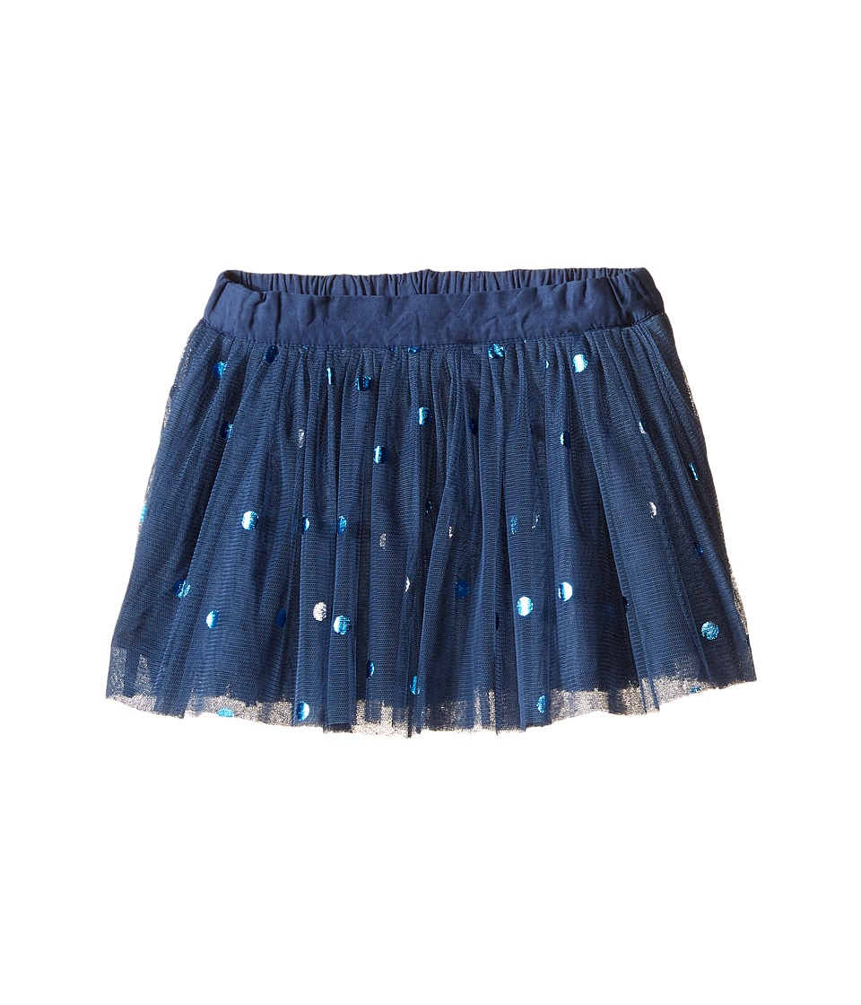 Stella McCartney Kids - Honey Polka Dot Tulle Skirt (Toddler/Little Kids/Big Kids) (Blue) Girl's Skirt