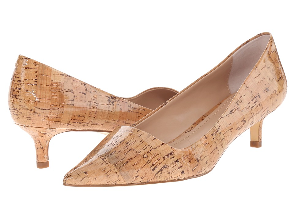 Charles by Charles David - Drew (Natural Glossy Cork) Women's 1-2 inch heel Shoes